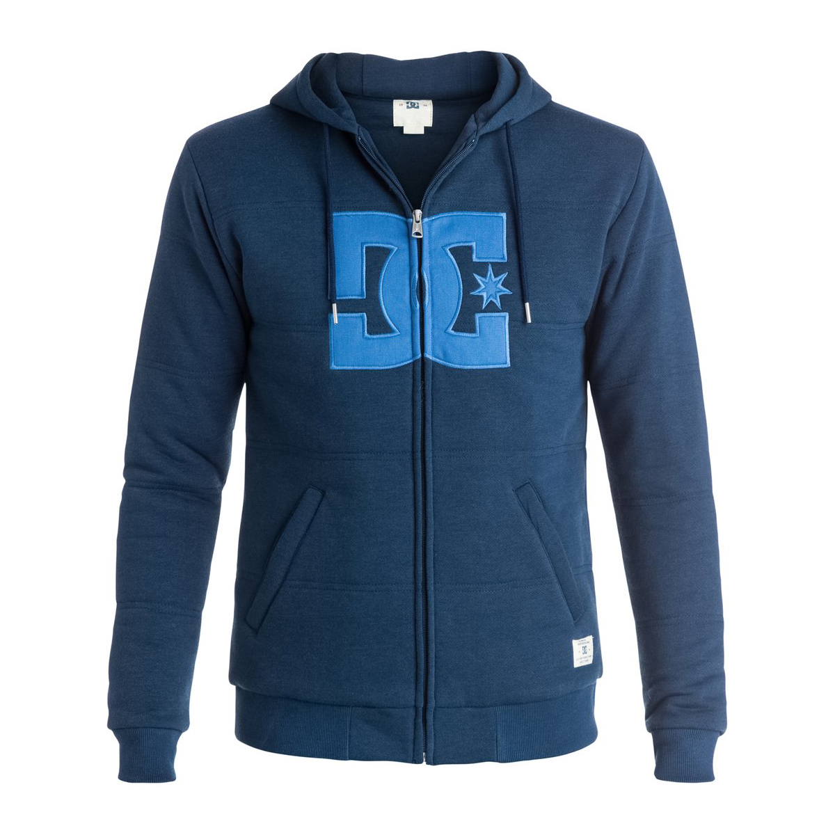 DC Rebel Star Mens Zip Hood