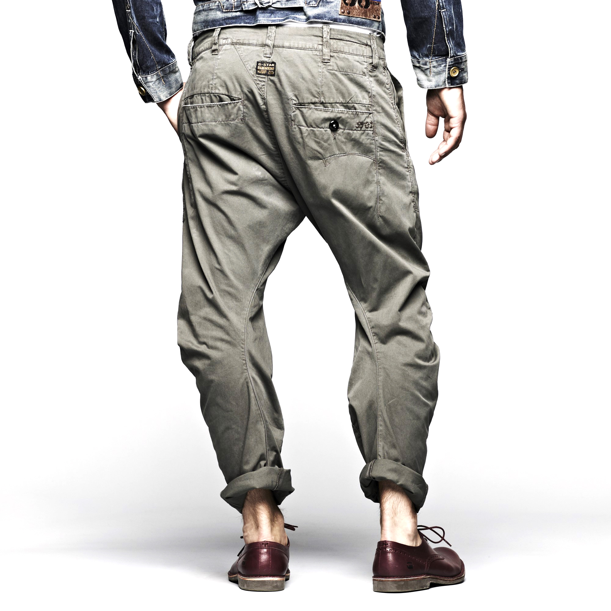 G-STAR Bronson Tapered Loose Mens Chino Pants