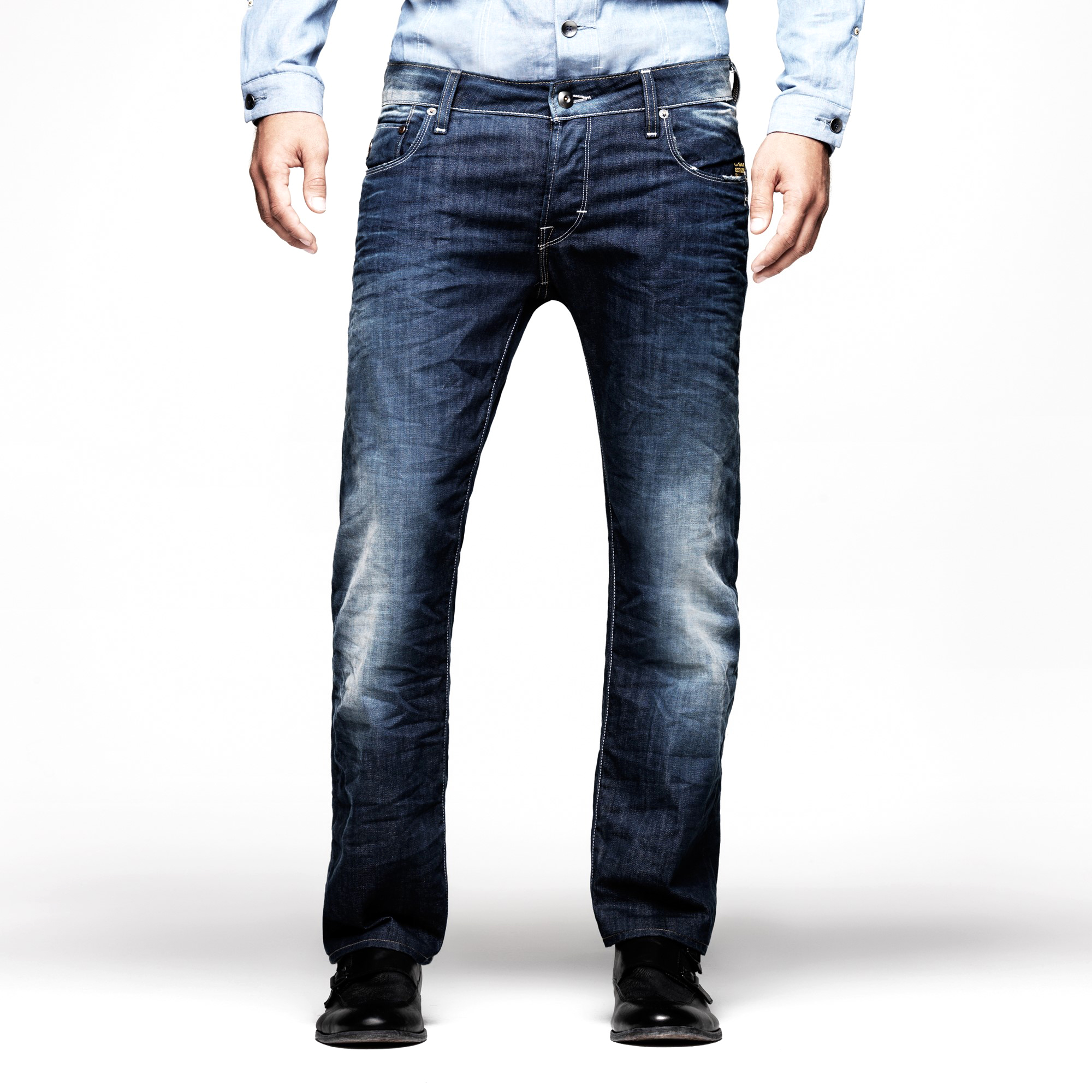 G-STAR Heller Low Straight Mens Jeans