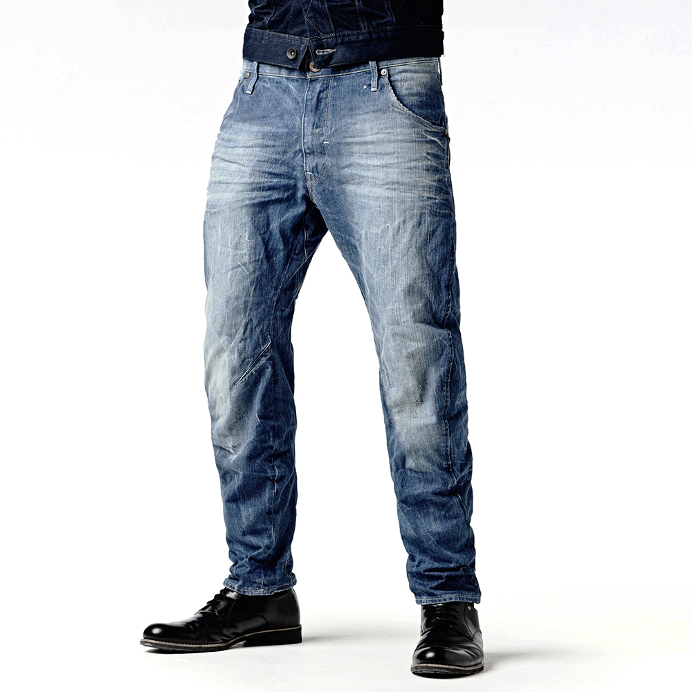 6624263349f G-STAR Arc 3D Loose Tapered Mens Jeans @ ExitSport