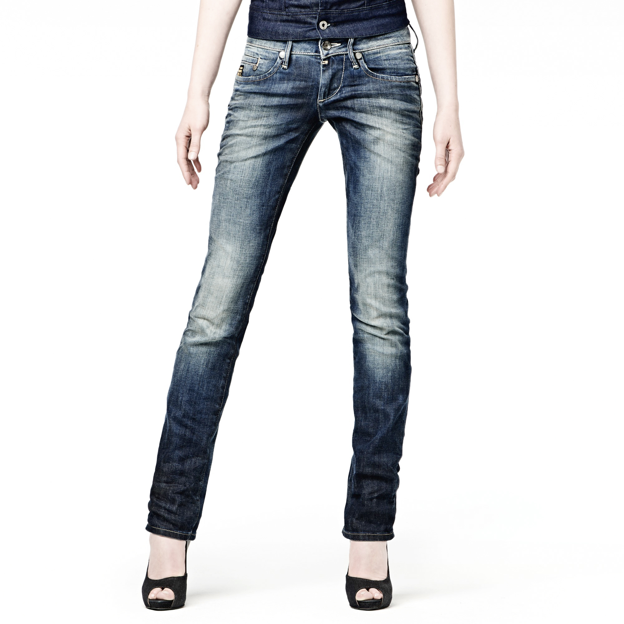 G-STAR Midge Straight Womens Jeans