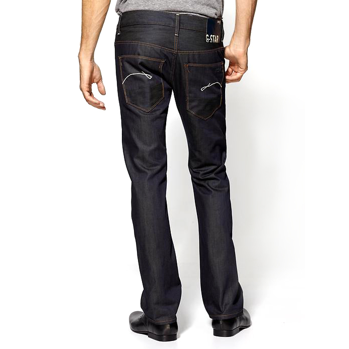 G-STAR Morris Low Straight Mens Jeans