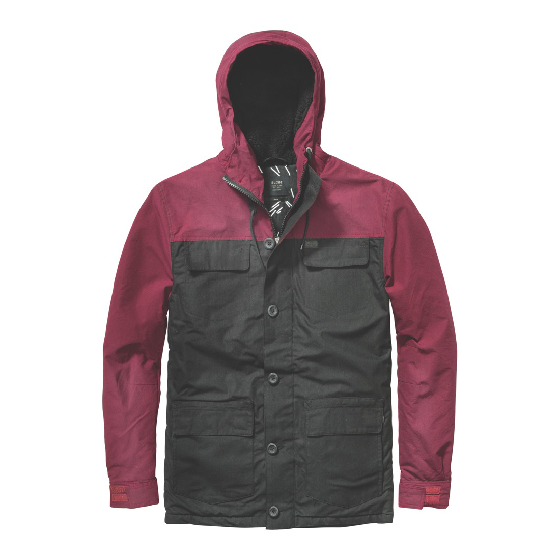 GLOBE Goodstock Blocked Mens Parka