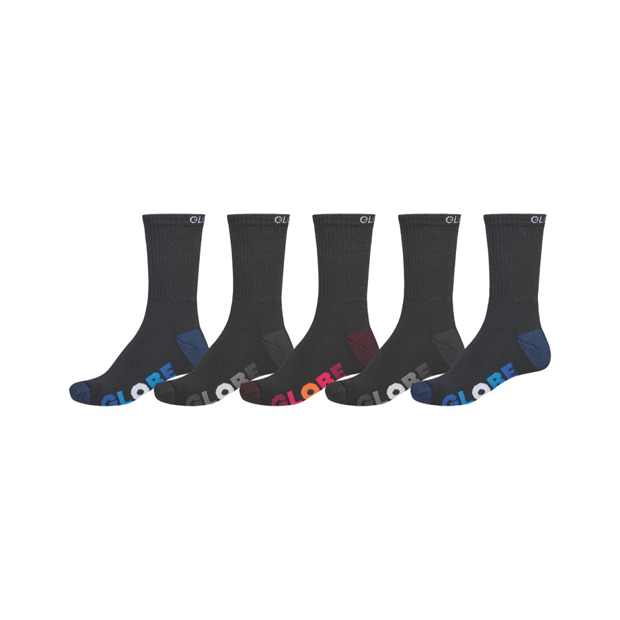 GLOBE Multi Stripe Crew Socks