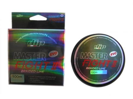 MASTER FIGHT II BRAIDED fluorestseeriv roheline 100m 0,220mm